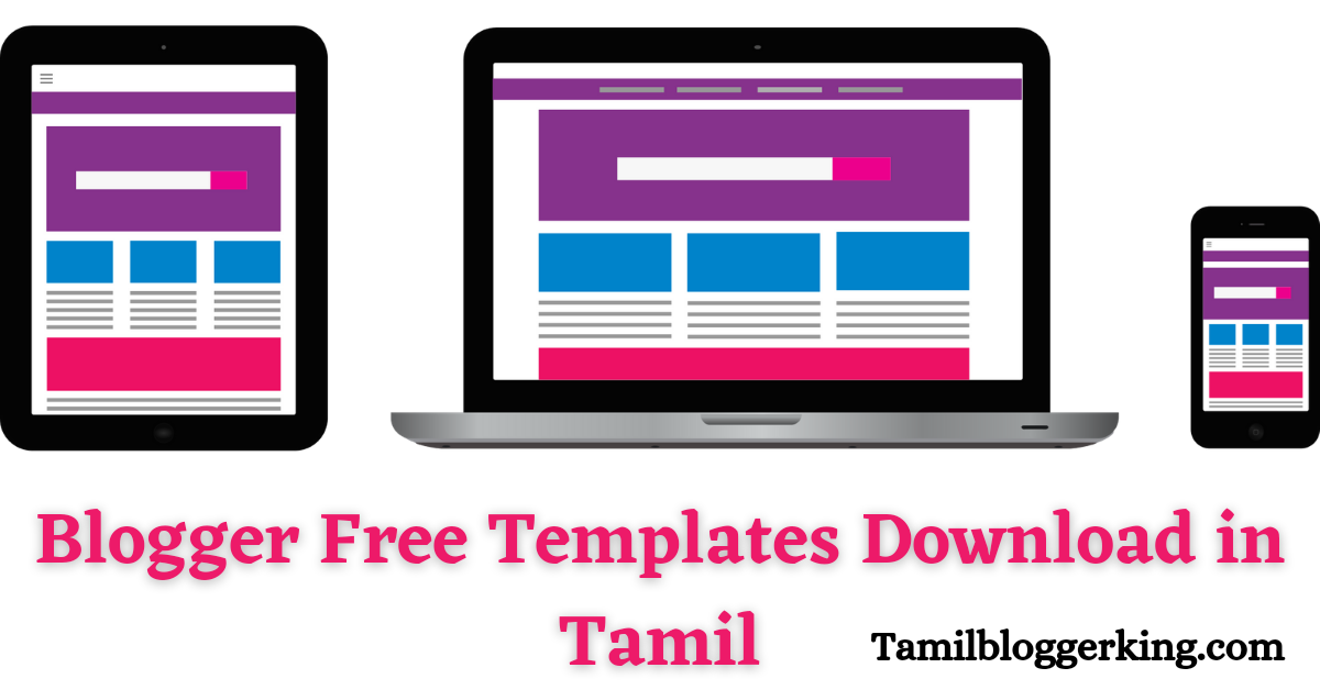 Blogger free templates download