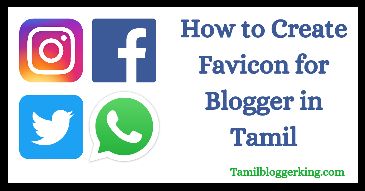 How to create Favicon for Blogger