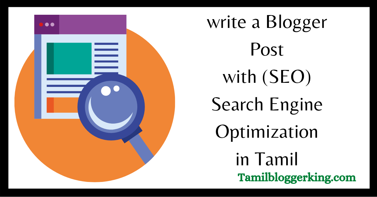 Blogger Post Seo